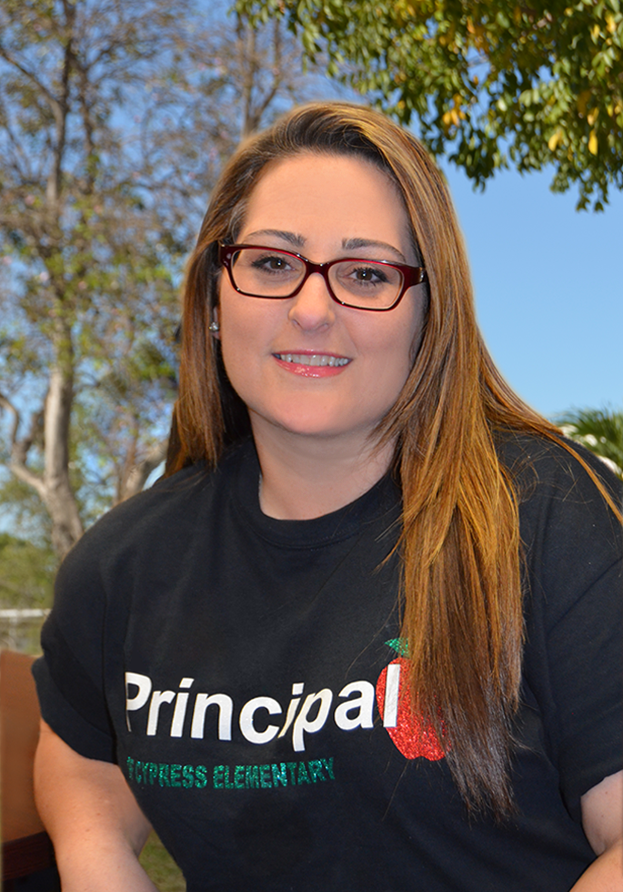 Picture of Ms. Schnur, Principal at Cypress Elementry