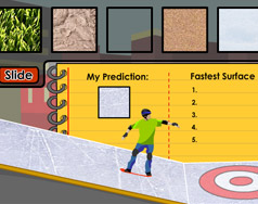 "Students can see how friction works in ""Skater Steve."""