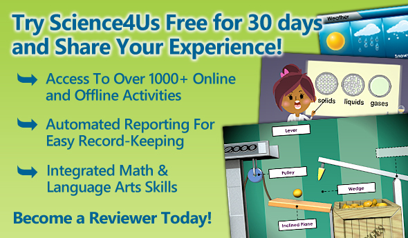 Review Science4Us and Receive a Free 30-Day Membership